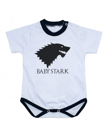 Body Bebê Game Of Thrones Baby Stark Manga Curta