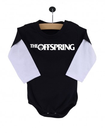 Body The Offspring Manga Longa Preto