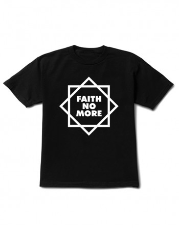 Camiseta Infantil Faith No More Manga Curta Preta