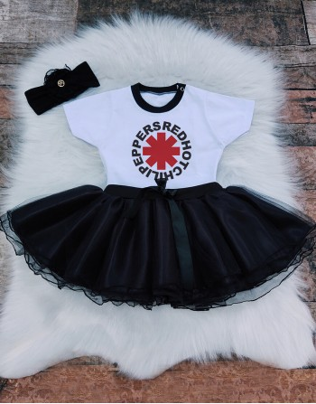 Conjunto Bebê Red Hot Chili Peppers
